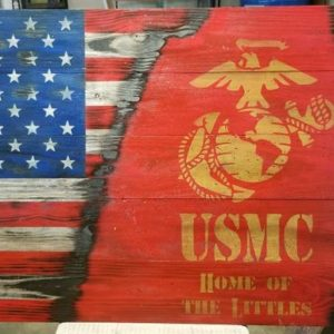 Marine Corps Family Flag
