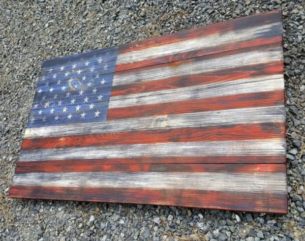 Original Wooden Flag